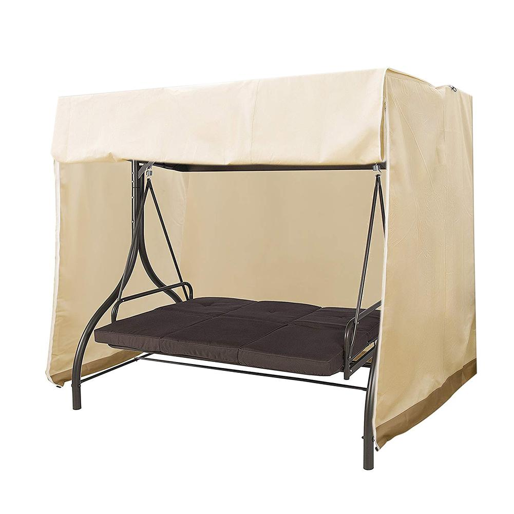 Garden Swing Cover Waterproof Top Cover dust cover Canopy Replacement For Ourdoor Swing Chair Hammock Canopy Swing Chair Awning