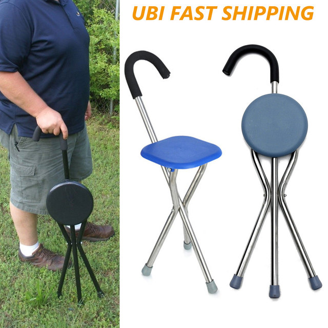 Folding Chair Walking Stick