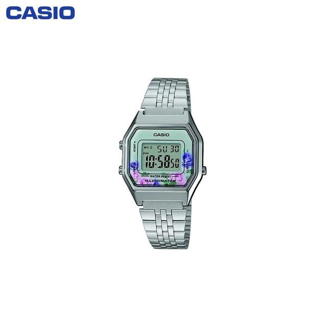 Наручные часы Casio LA680WEA-4C женские электронные на браслете