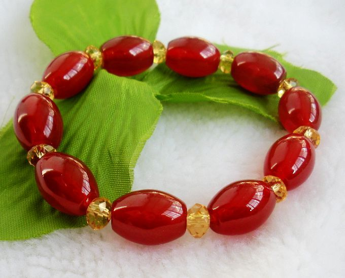 Long Yi agate lucky Bracelet hand on jade jewelry and accessories 3000382