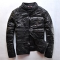 Men's Leather Jacket Man Jacket Short With Cotton Leather Jacket Men's Motorcycle Jacket CMX 406