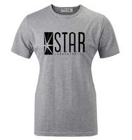 Summer Casual Cotton T Shirt STAR Laboratories The Flash DC Comics S T A R Labs