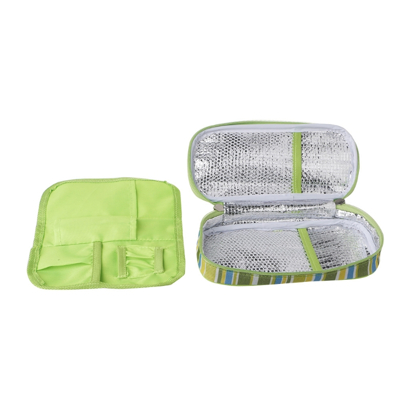 Portable Insulin Cooler Case Pouch Diabetic Organizer Medical Travel