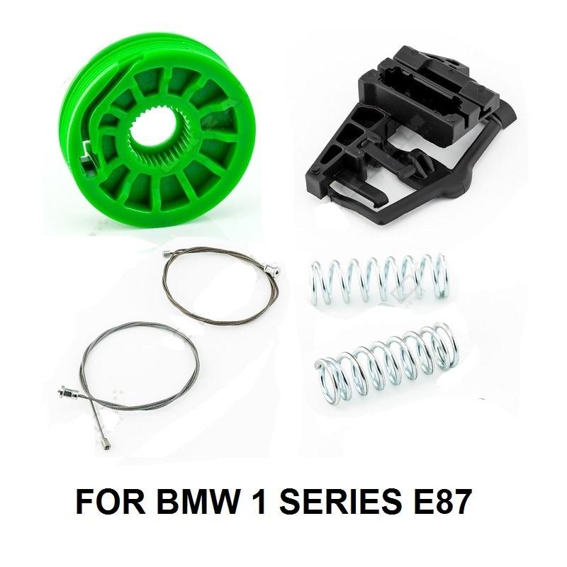 CAR WINDOW KIT FOR BMW 1 SERIES E87 51357138467 WINDOW REGULATOR REPAIR KIT REAR LEFT 2003-2013