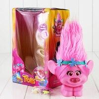 Nouveau Film Trolls Jouets Avec La Lumière Trolls Pavot Figure Trolls Film Tactile Il Puis La Lumière UP Jouets De Noël