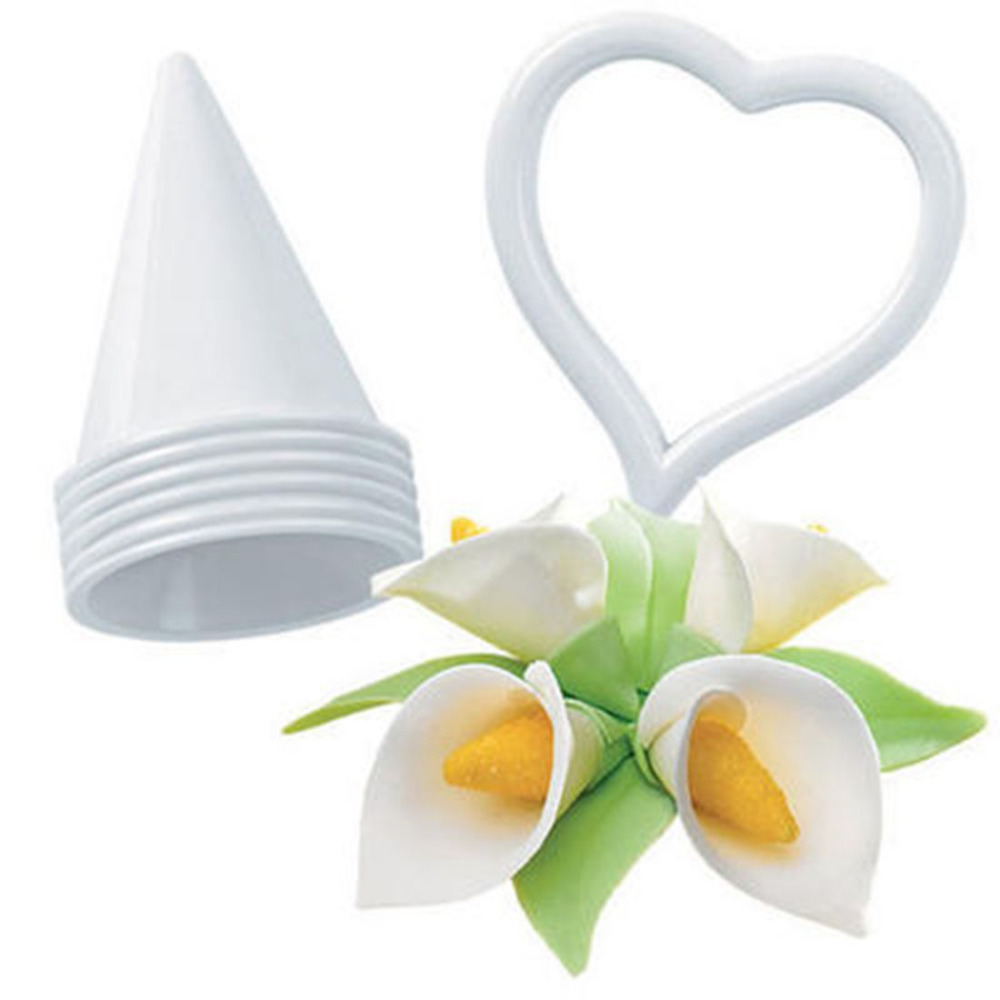 Best Sale 6pcsset Icing Fondant Cake Decorating Calla Lily Flower