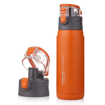 PINKAH 650ML Thermo Mug Stainless Steel Vacuum Flasks Sport Insulation Cup Outdoor Water bottles thermos 5