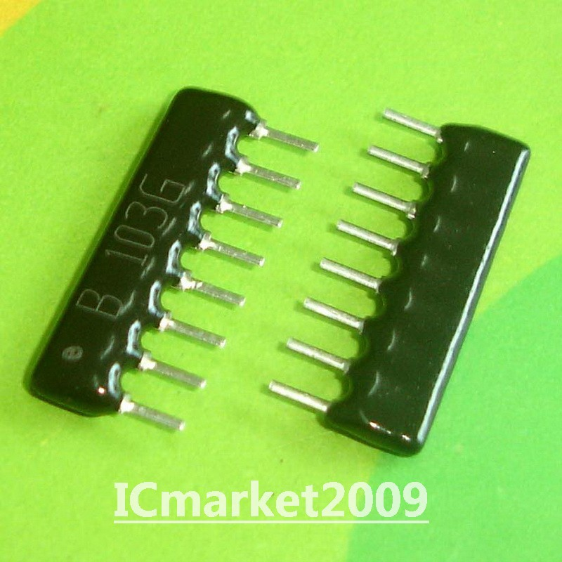 10 pieces Resistor Networks /& Arrays 8pins 390Kohms Isolated