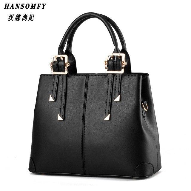 HNSF 100% Genuine leather Women handbag 2017 New Temperament type fashion Crossbody Shoulder Handbag women messenger bags