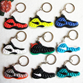 Mix 9pcs/lot Red Pink White Foamposites Key Chain, Sneaker Keychain Key Chain Key Ring Key Holder for Woman and Girl Gifts