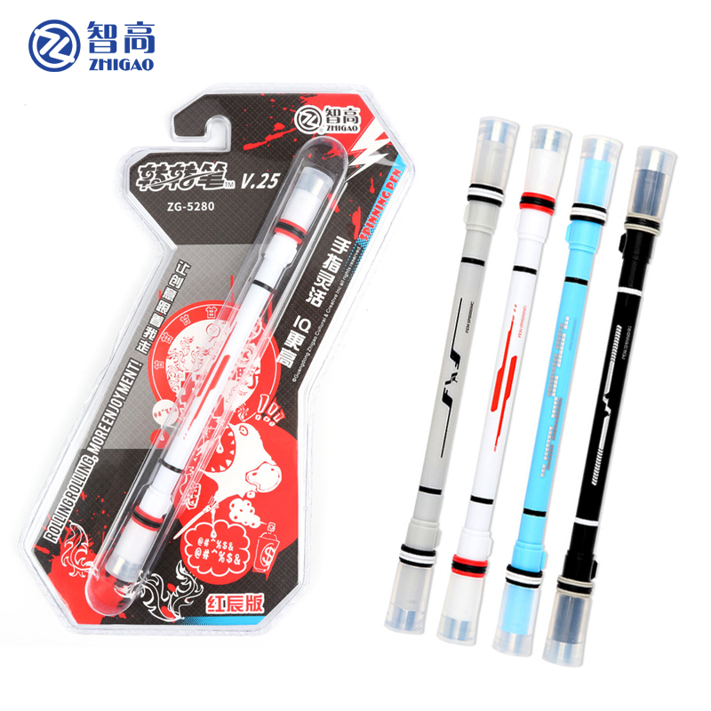 Zhigao Spinning pen spring Drop resistant drop pen special beginner student practice pens for school New product  stationery|spinning pen|pen product|school products - title=