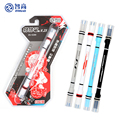 Zhigao спиннинговая ручка, пружинная, устойчивая к падению ручка, специальная ручка для начинающих студентов, тренировочные ручки для школы, новый продукт, канцелярские принадлежности - фото