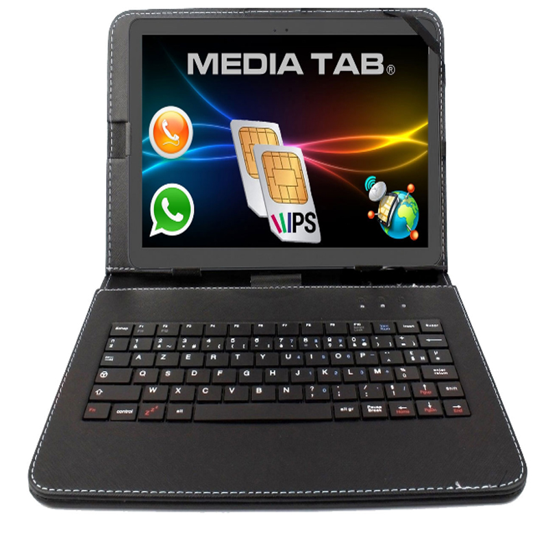 10,1 10 Zoll Tablet Pc 3g Dual Sim Gps Android 7,0 16g 32 Gb 2 Gb De Ram Hd Pantalla Ips Uvm Teclado Gratis Cubierta Regalo