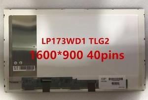 17.3 ''tela LCD V0 V1 V2 V.4 V.5 B173RW01 LTN173KT01 LTN173KT02 N173FGE-L21 LP173WD1 TLG2 G1 L23 K01 N173O6-L02 Rev. C1 40-pin