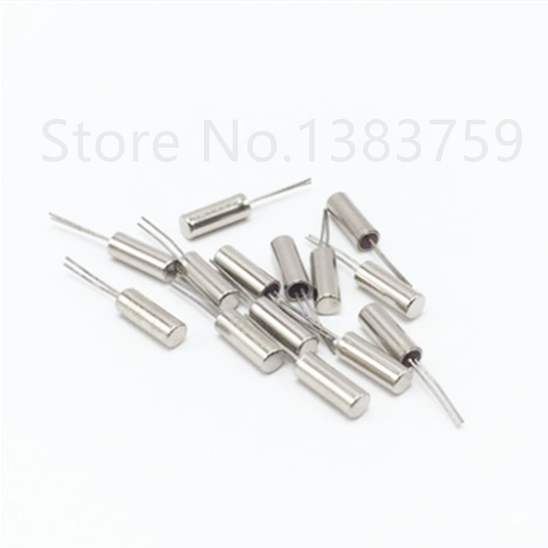 50pcs Fork type crystal column 2*6 206 crystal cylindrical crystal 32K <font><b>32KHZ</b></font> 32.000KHZ In stock image