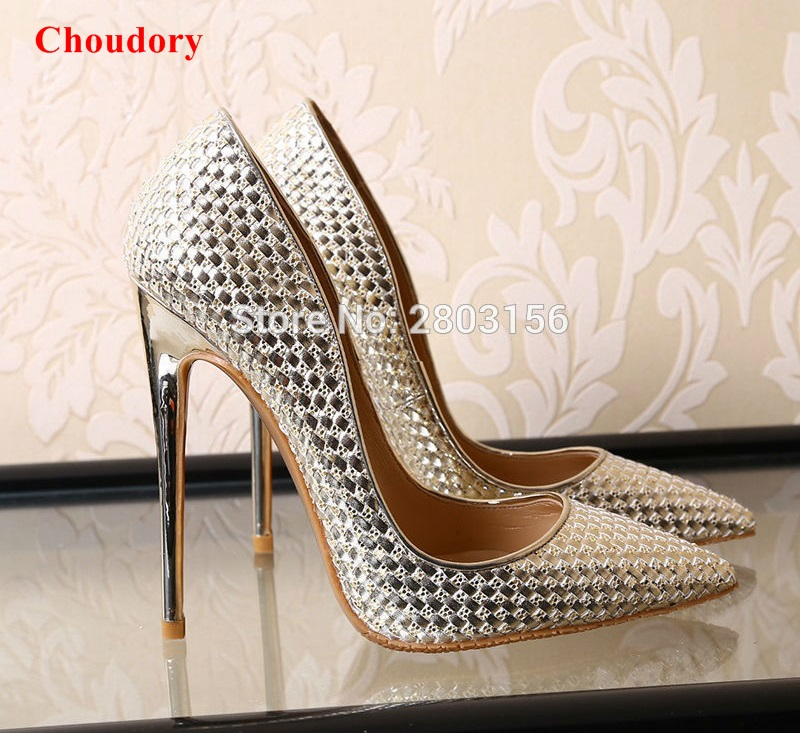 Woman High Heels Women Pumps Stiletto Thin Heel Women's Shoes Silver Pointed Toe High Heels Party Wedding Shoes aidocrystal shoes woman high heels women pumps stiletto thin heel women s shoes pointed toe high heels wedding shoes size 35 42