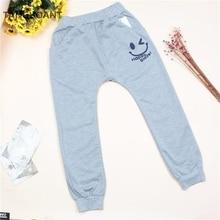 TANGUOANT Free Shipping Hot Sale Children cotton pants Boys Girls Casual Pants 2 Colors Kids Sports trousers Harem pants