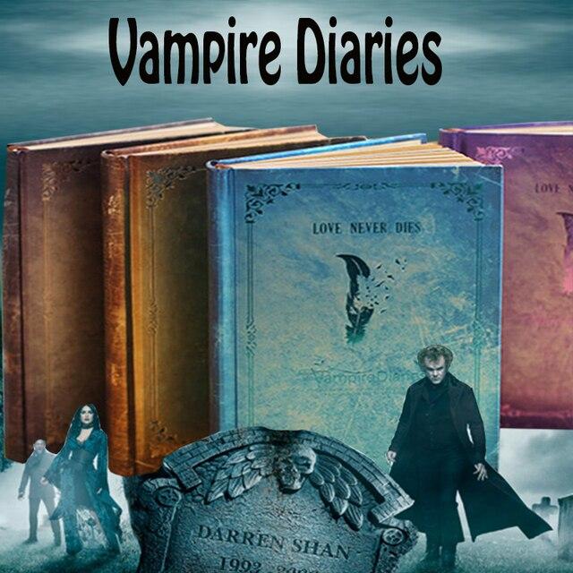 Vintage Vampire Diaries Cuaderno Agenda Planificador Semanal Mensual ...