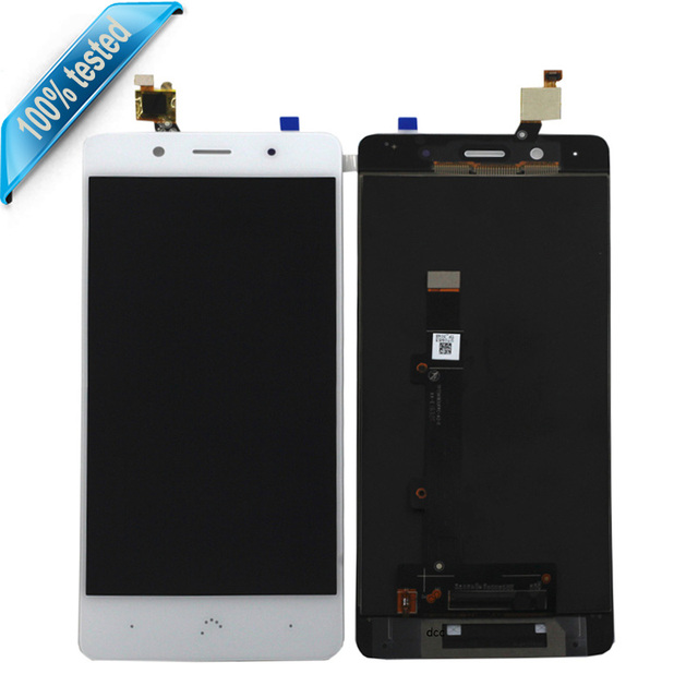 For BQ Aquaris X5 Plus LCD Display With Touch Screen digitizer For BQ X5 Plus LCD Screen Free Tools