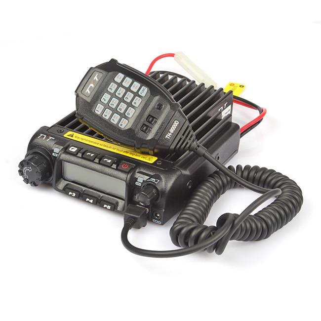 TYT TH-9000D VHF 150-160MHz 60W מונו בנד תצוגה כפולה משדר Scrambler משדר מכונית משאית נייד שני רדיו חזיר