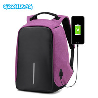 Women Backpacks Anti Theft Multifunction USB Charging Men Rucksack Laptop Bag 2018 High Capacity Computer Backpack