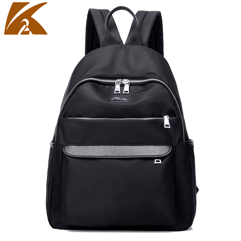 2017 New Arrival Waterproof Nylon Women Backpack Fashion Black Shoulder Back Pack Bag Preppy Style Backpacks for Teenage Girls women back bag high quality mochila new 2017 women s backpack for teenage girls waterproof nylon preppy style school bags