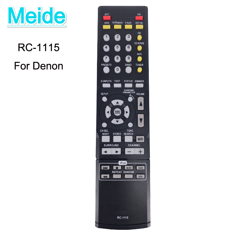 Nova substituição RC-1115 controle remoto para denon rc1115 rc 1115 avr930 AVR-390 AVR-1312 AVR-1311 AVR-391 controlador do sistema av