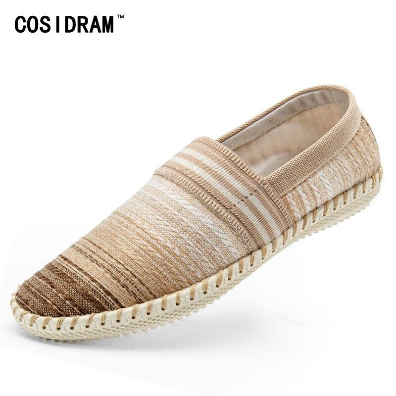 Diseñador de la marca del Estilo de Bohemia de Los Hombres Zapatos Casuales Zapa