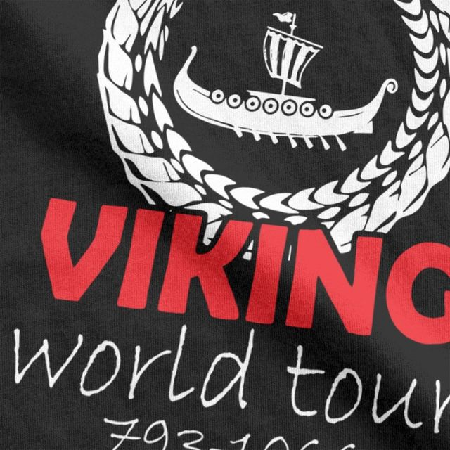 VIKINGS WORLD TOUR T-SHIRT (19 VARIAN)