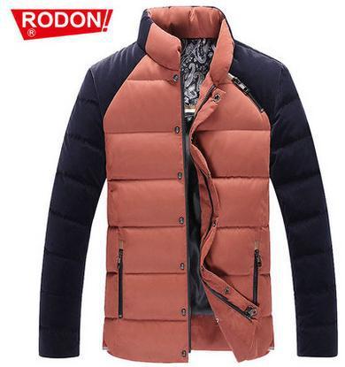 2016 winter fashion stand collar thicken warm duck down jacket casacos masculino jackets for men clothes brands short coats 3XL
