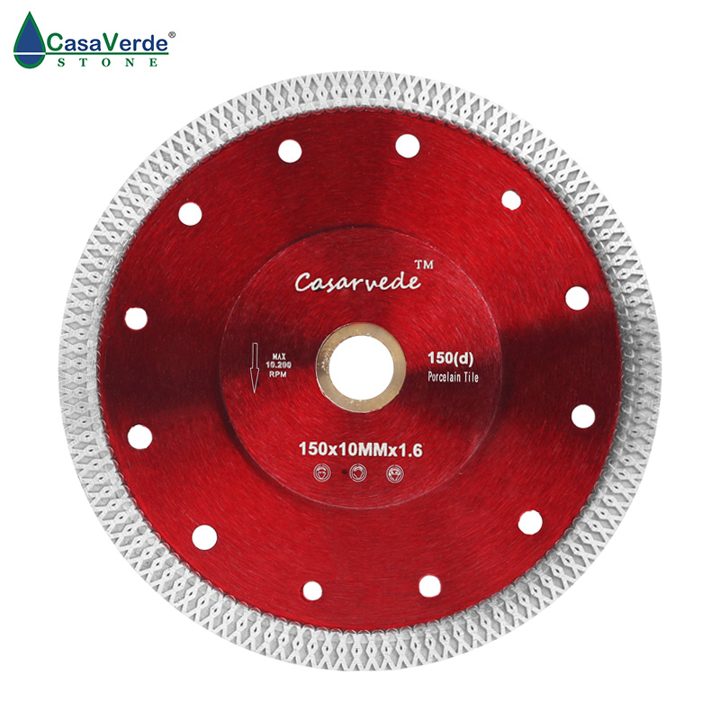 Free shipping DC-SXSB04 150mm diamond porcelain saw blade 6 inch for ceramic tile cutting free shipping magnetize for screwdriver plus porcelain degaussing degaussing minus porcelain disassemble charge sheet page 1
