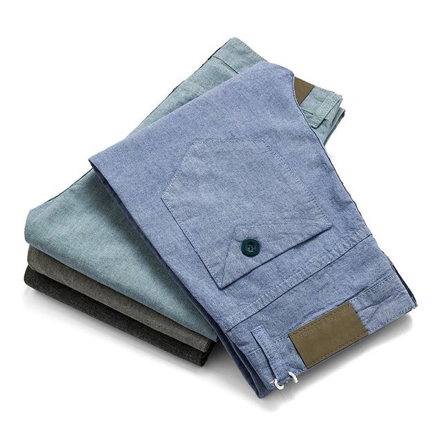 Hombres Basculador Pantalones Delgados Pantalones Elásticos Ocasionales de Los Hombres Los Hombres de Negocios Pantalones de Lino Del Verano Transpirable Nueva Erkek Pantolon Sólido