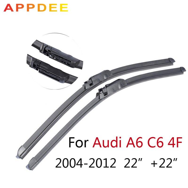 appdee 22 22 Wiper Blade For Audi A6 C6 4F 2004 2005 2006 2007 2008 2009