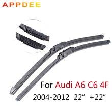 """Appdee 22 """"+ 22"""" Limpiaparabrisas Para Audi A6 4F C6 2004 2005 2006 2007 2008 2009 2010 2011 2012 Parabrisas Del Coche Accesorios de Automóviles"""