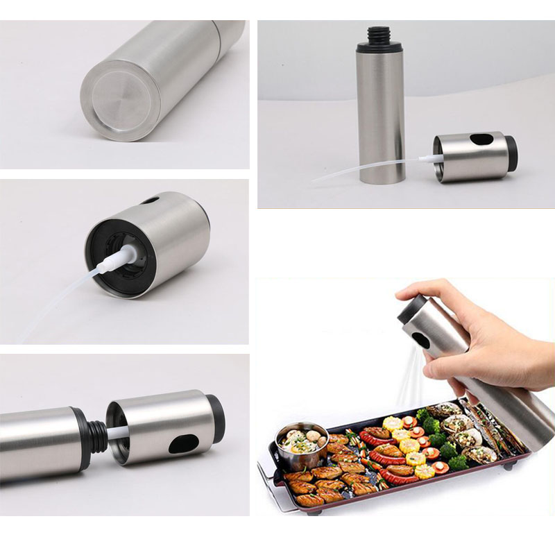 Eworld Oil Sprayer Olive Oil Spray Bottle Spraying Oil Oil Pump - Cocina, comedor y bar - foto 6