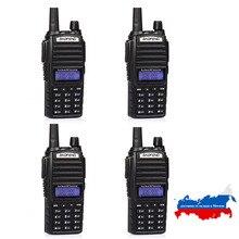 4PCS BaoFeng Neueste Dual Band Two Way Radio UV 82 mit Doppel PTT Design 136 174 & 400 520MHz lange übertragen reichweite Kostenloser Versand