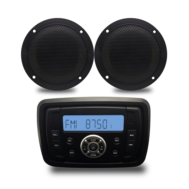 boot audio bluetooth stereo motorrad radio marine mp3. Black Bedroom Furniture Sets. Home Design Ideas