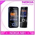 Restaurado Original abierto de Nokia N81 GSM 3 G WIFI de la red cámara de 2MP FM 2.4 pulgadas teléfono móvil 1 Year garantía envío gratis