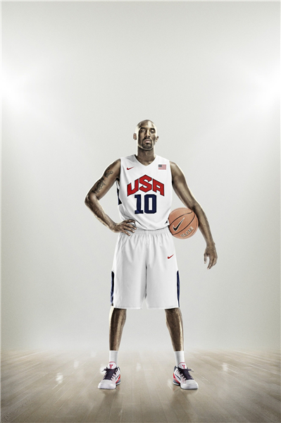 Custom Canvas Painting Kobe Bryant Poster USA Basketball Team Sticker NBA Star Wallpaper 10 Wall Stickers Decoration 1284 In From Home