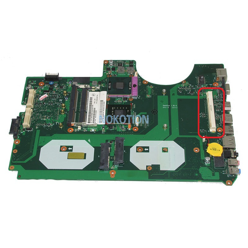NOKOTION 6050A2207701-MB-A02 1310A2207701 MBASZ0B001 laptop motherboard For acer aspire 8930 8930G PM45 DDR3 with graphics slot mb psm06 001 mbpsm06001 for acer aspire 4745 4745g laptop motherboard hm55 ddr3 ati hd5470 512mb discrete graphics mainboard