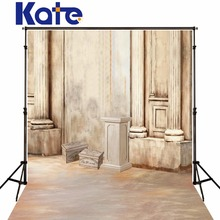 Kate Photography Backdrops Indoor Brick Floor Stone Bench Stone Pillars  Photography For Wedding Photo Backdrop