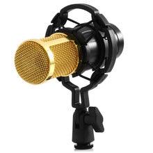 Hot sale Zeepin BM-800 Dynamic Condenser Wired Microphone Mic Sound Studio for Recording Kit KTV Karaoke with Shock Mount Holder