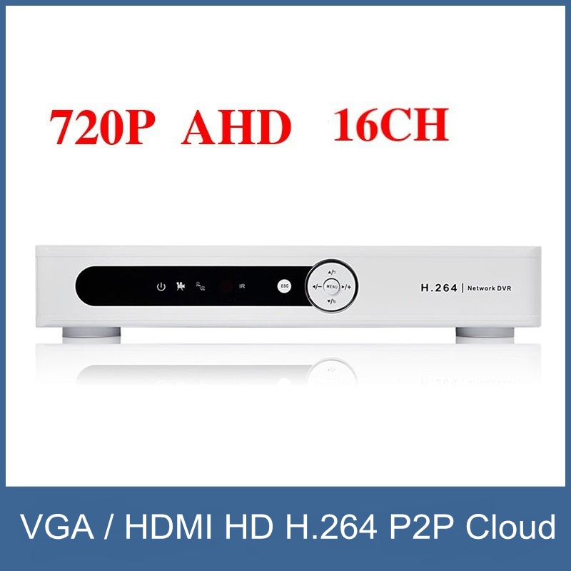 Free Shipping!!! New Economical CCTV AHD DVR, 16 Channel 720P Network Video Recorder, VGA / HDMI HD H.264 P2P Cloud free shipping h 264 ahd cctv dvr 16 channel security camera system stand alone hdmi d1 video surveillance digital video recorder