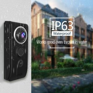 Image 3 - Vstarcam וידאו פעמון מצלמה 720P WiFi חזותי פעמון שיחת אינטרקום דלת פעמון Rechargable סוללה IR לילה אבטחת צג