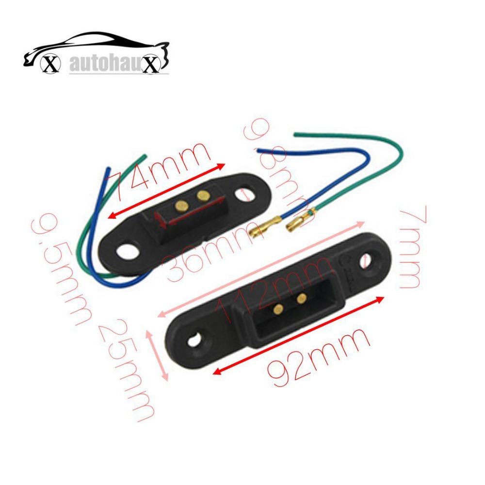 Van Sliding Door Contact Switch For Central Locking In Car
