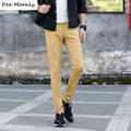 DEE MOONLY Luxury Brand Straight Business Casual Men Pants High Quality Designer Spring Autumn Elegant Male Leisure Long Trouser
