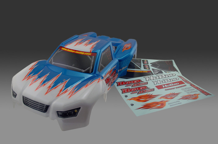 OFNA HOBAO RACING 11036B PRINTED BODY BLUE W DECAL for 1 10 HYPER 10SC Free Shipping