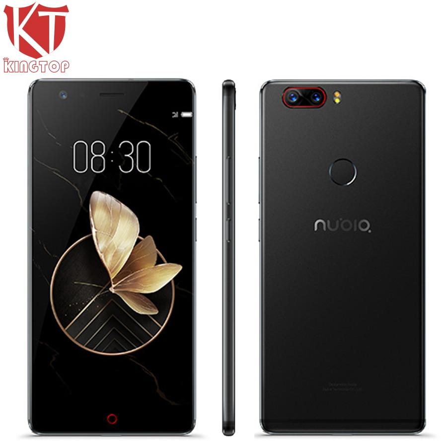 Оригинальный zte Нубия Z17 Водонепроницаемый 5,5 мобильный телефон 6 ГБ Оперативная память 64 ГБ Встроенная память Snapdragon 835 Octa Core 23MP камера Android 7,1...