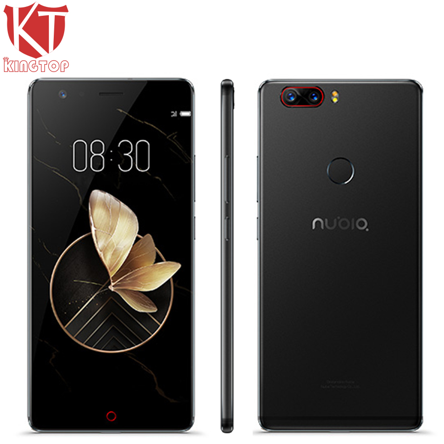 Original ZTE Nubia Z17 Waterproof 5.5 Mobile Phone 6GB RAM 64GB ROM Snapdragon 835 Octa Core 23MP Camera Android 7.1 Cell Phone
