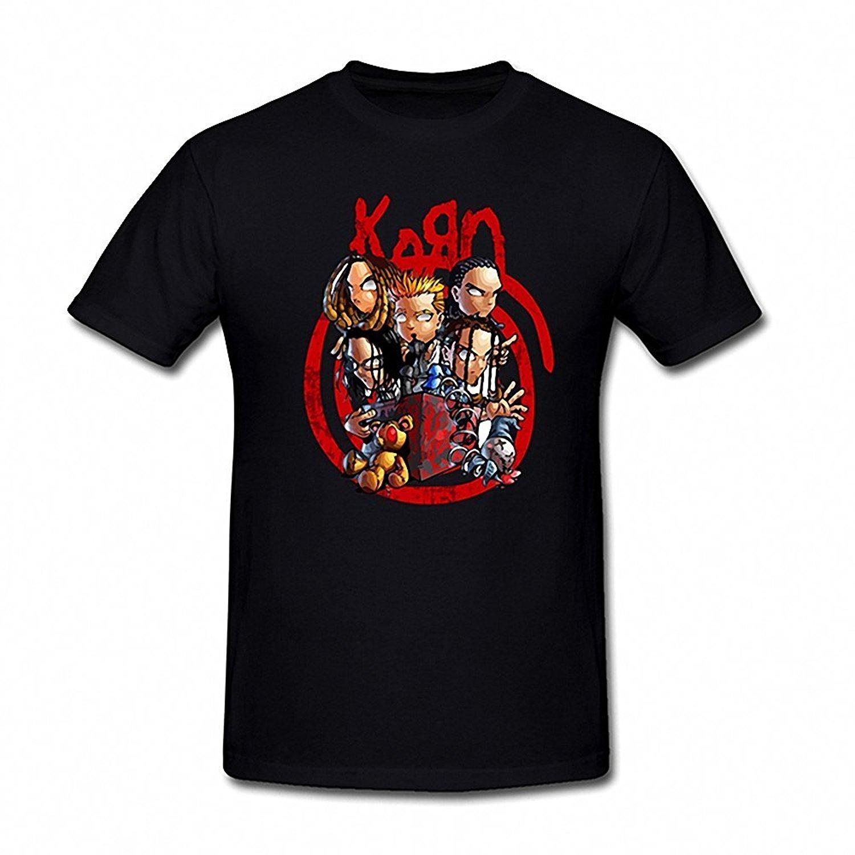 Shirt design brands - Printed T Shirt 2017 Fashion Brand Design T Shirts Casual Cool Toomii Men S Korn Band Cartoon